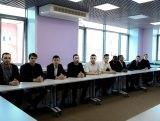 Руководство АГУ поздравило «Каспийских волков» с успешным выступлением в этом сезоне