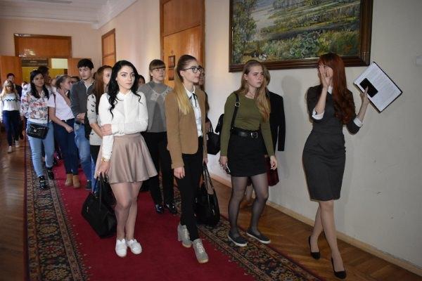 Мастер-класс Председателя Думы Астраханской области для студентов ФБиЭ