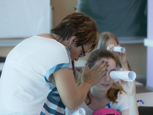 В Астраханском госуниверситете школьники проводят каникулы с пользой