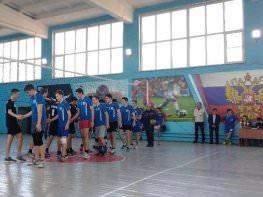 Сборная АГУ по волейболу – победитель областной спартакиады