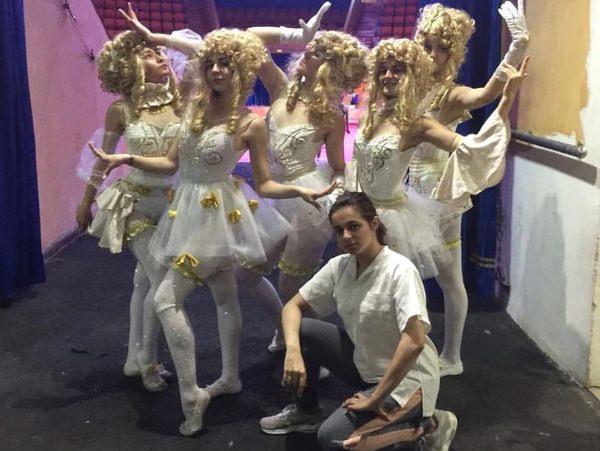 Студенты АГУ выступили с театрально-цирковым шоу «Шанс»