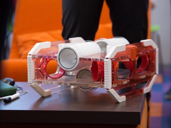 Студент АГУ создал робота-разведчика для исследований под водой