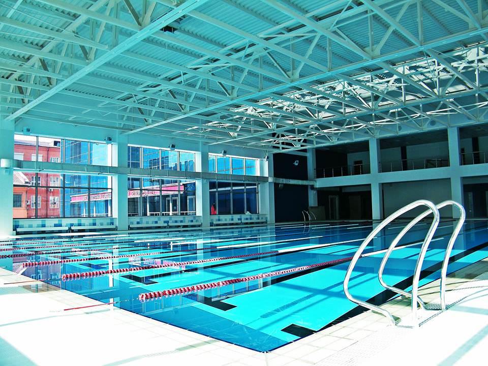 Открытие бассейна в АГУ