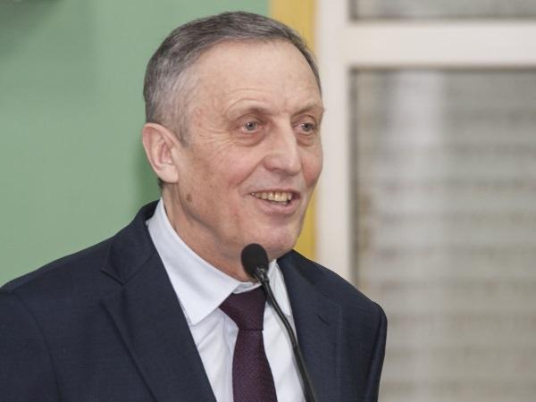 Визит ректора РЭУ В. И. Гришина в АГУ