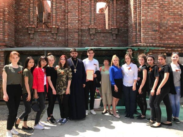 Волонтёры АГУ стали участниками благотворительного концерта ко Дню Победы