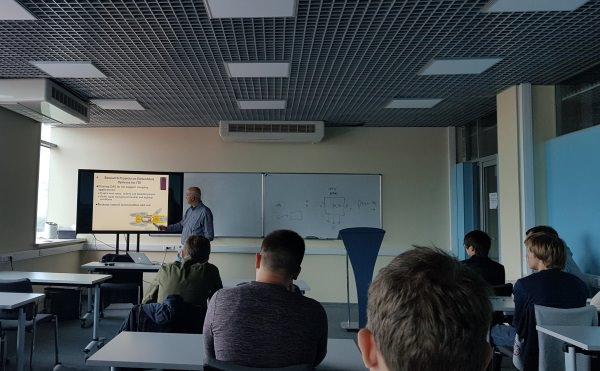Визит французского профессора в АГУ
