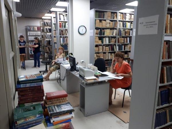 Библиотекари Астраханского госуниверситета отмечают профессиональный праздник