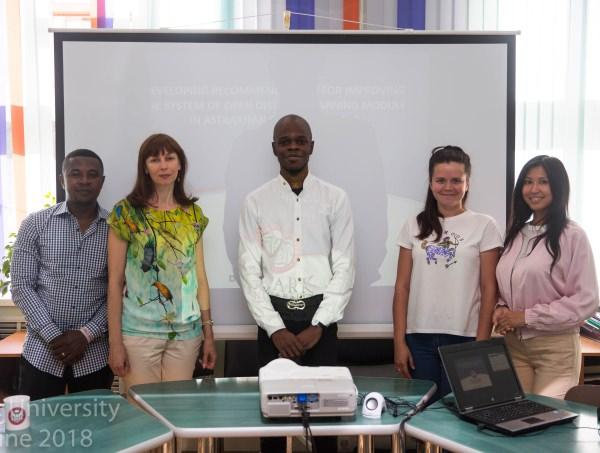 Слушатели совместных магистерских программ Университета Кларка и АГУ завершили своё обучение