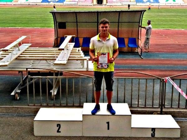 Студент АГУ стал призёром Чемпионата и Первенства ЮФО и СКФО по лёгкой атлетике