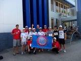 Команда АГУ на соревнованиях по лёгкой атлетике