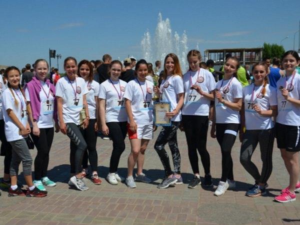 Астраханский госуниверситет участвует в спортивных соревнованиях ко Дню Победы