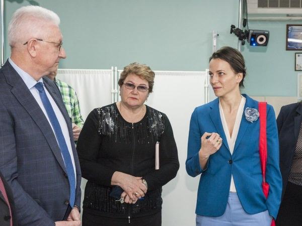 АГУ посетила ректор РГСУ Н. Б. Починок