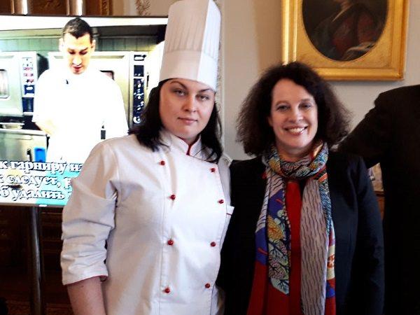 Магистрантка АГУ приняла участие во французском гастрономическом приёме