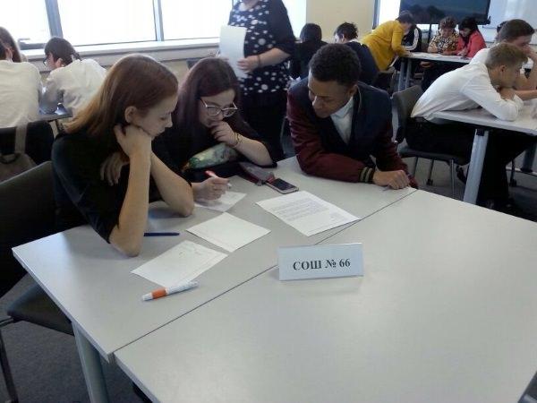 Астраханские школьники приняли участие в конкурсе «Интеллектуальный марафон»