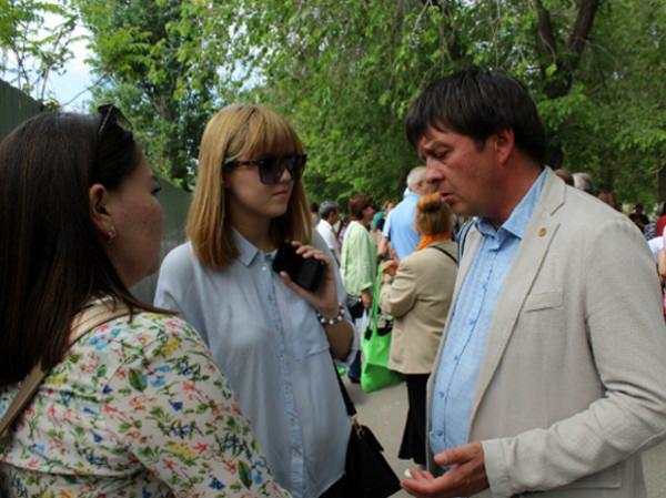 Студенты АГУ работали репортёрами на праздновании Сабантуя