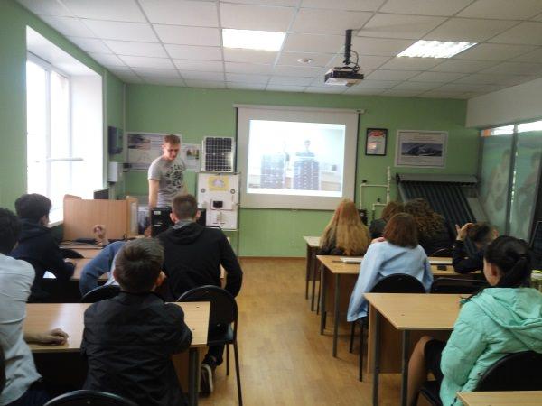Преподаватели АГУ рассказали школьникам об альтернативных источниках энергии
