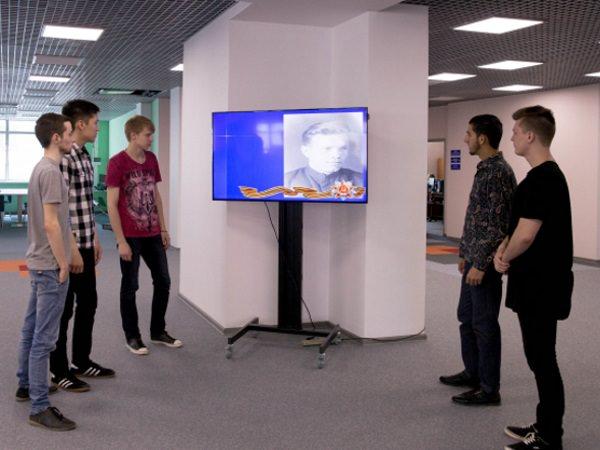 В АГУ показывают видеопрезентацию о преподавателях – ветеранах войны