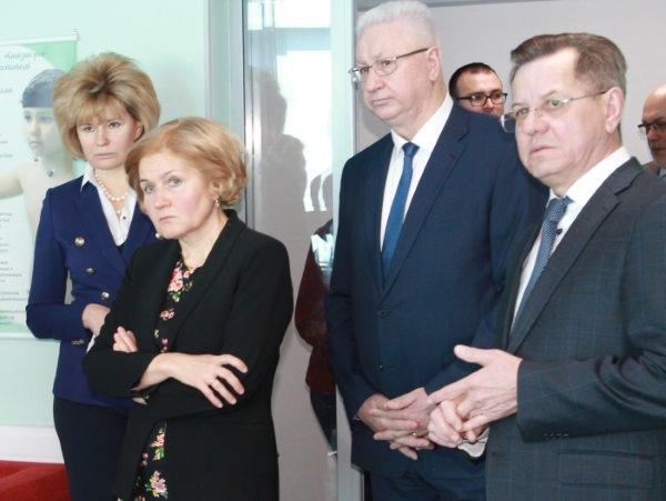 АГУ посетила заместитель председателя Правительства Российской Федерации О. Ю. Голодец