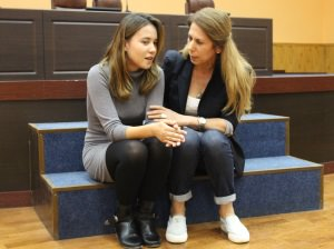 Студенты ФП отрабатывают навыки экстренной психологической помощи