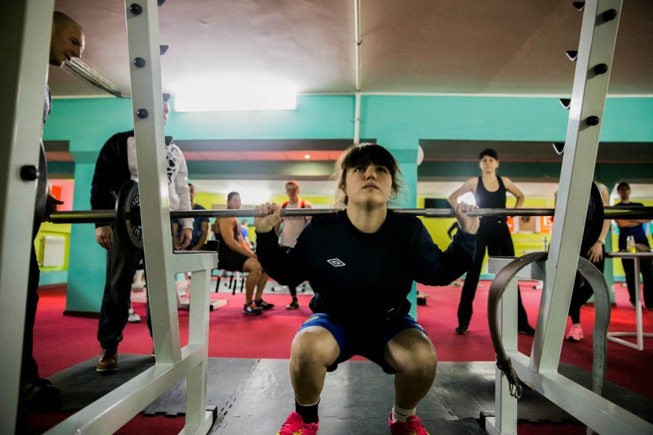 Силовые виды спорта к