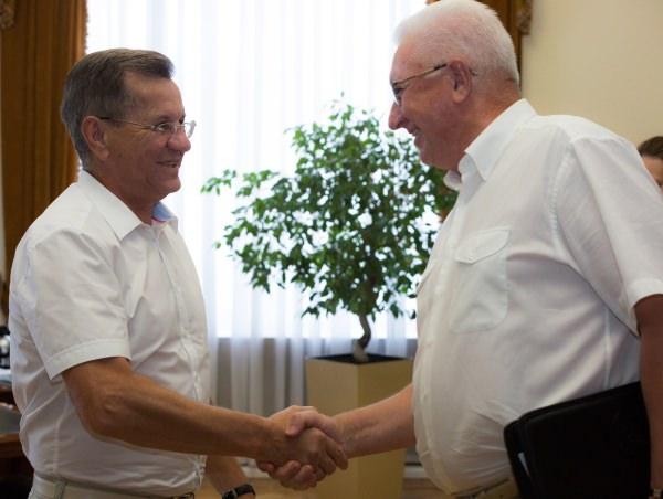Александр Жилкин поддержал стратегию развития Астраханского госуниверситета