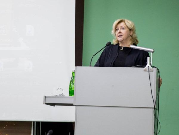 Председатель Совета ректоров вузов Юга России М. А. Боровская посетила АГУ