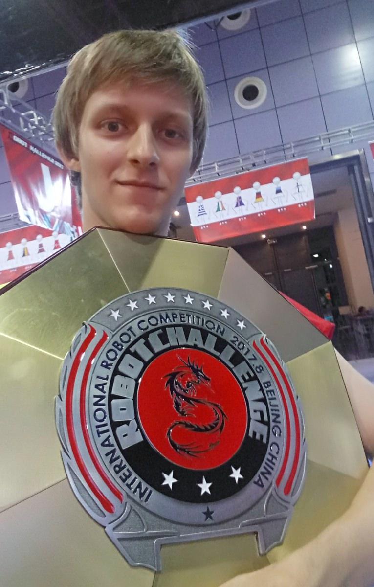 Студенты АГУ вошли в число победителей международных соревнований по робототехнике