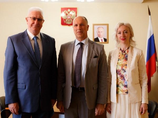 Астраханский госуниверситет развивает сотрудничество с итальянскими партнёрами