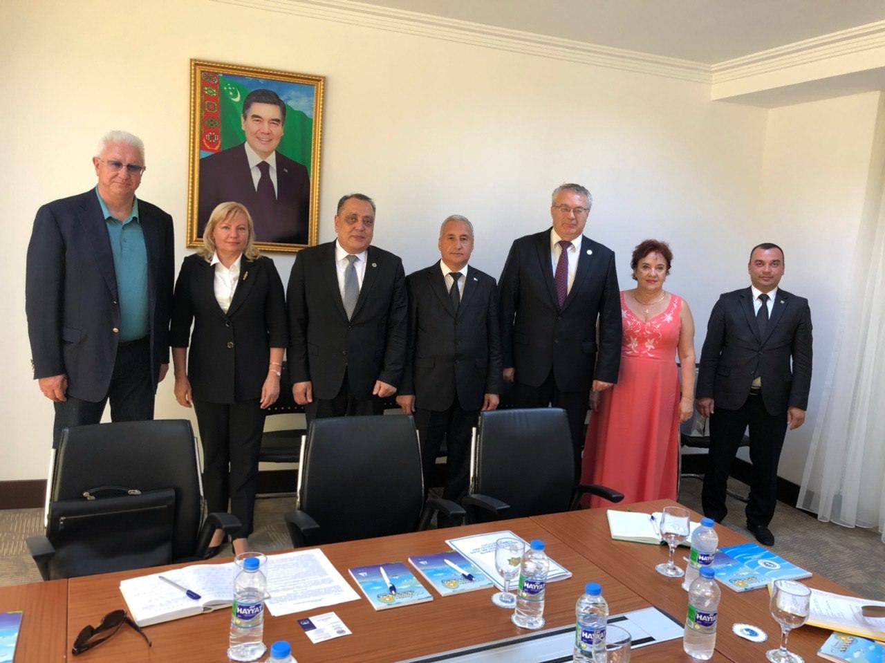 Константин Маркелов провёл ряд рабочих встреч в Туркменистане