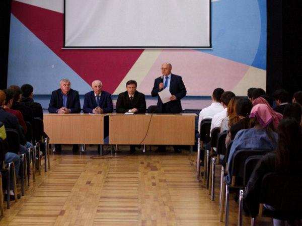 В АГУ прошла беседа о толерантности