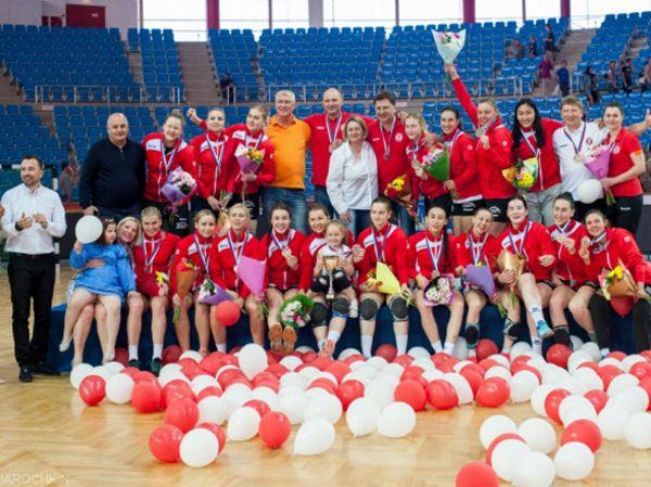 Гандболистки из АГУ помогли «Астраханочке» взять бронзу на чемпионате России