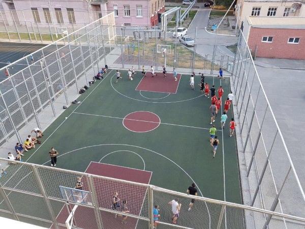 В АГУ состоялись отборочные игры по баскетболу, мини-футболу и волейболу