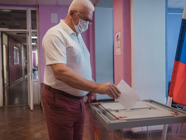 Konstantin Markelov Took Part in All-Russia Voting