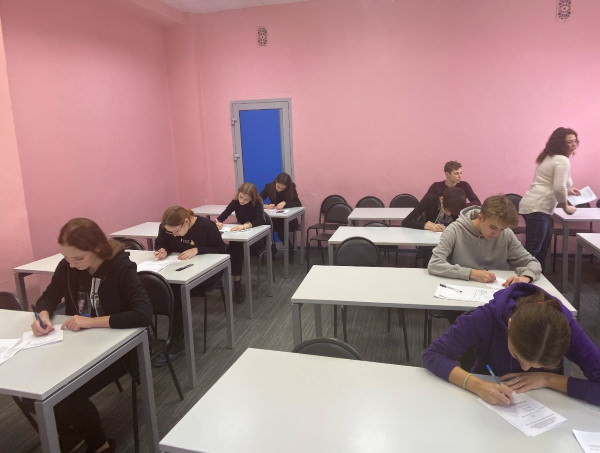 More Than 500 Astrakhan Schoolchildren Compete in Their Knowledge of English at ASU
