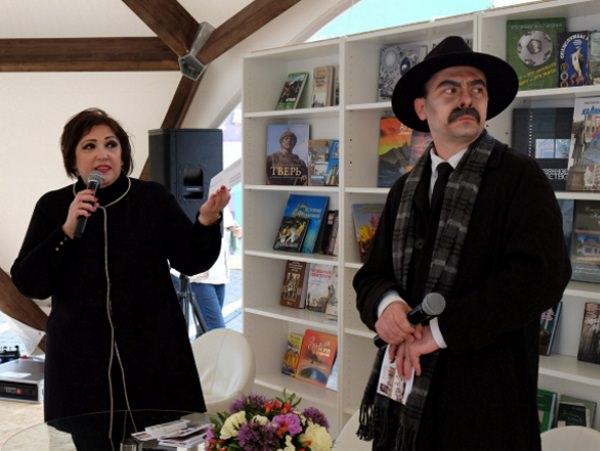 Астраханский госунивеситет представил литературные открытки на книжном фестивале в Москве