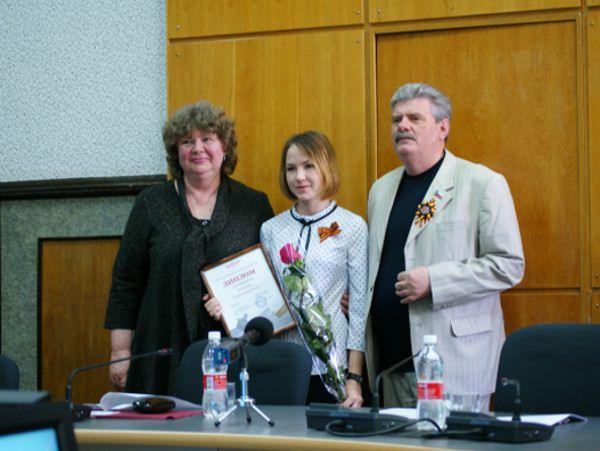 Студентка АГУ стала победителем литературного конкурса «День Победы»