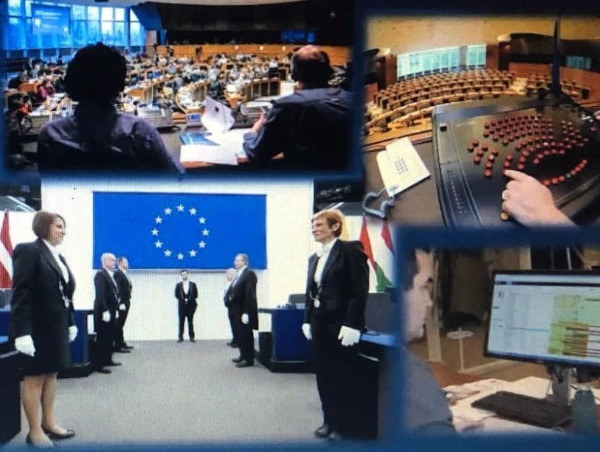 CITS MA Students Learn First-Hand about Work of European Parliament Interpreters