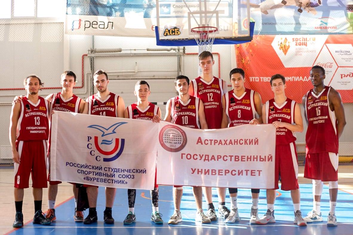 «Каспийские волки» заняли 2 место в чемпионате по баскетболу