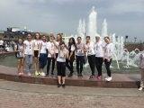 Студенты АГУ приняли участие в легкоатлетической эстафете