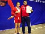Студентка ФПСРиФК – победитель чемпионата по самбо